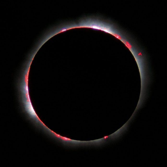 Chromosphere 1999 Total Solar Eclipse