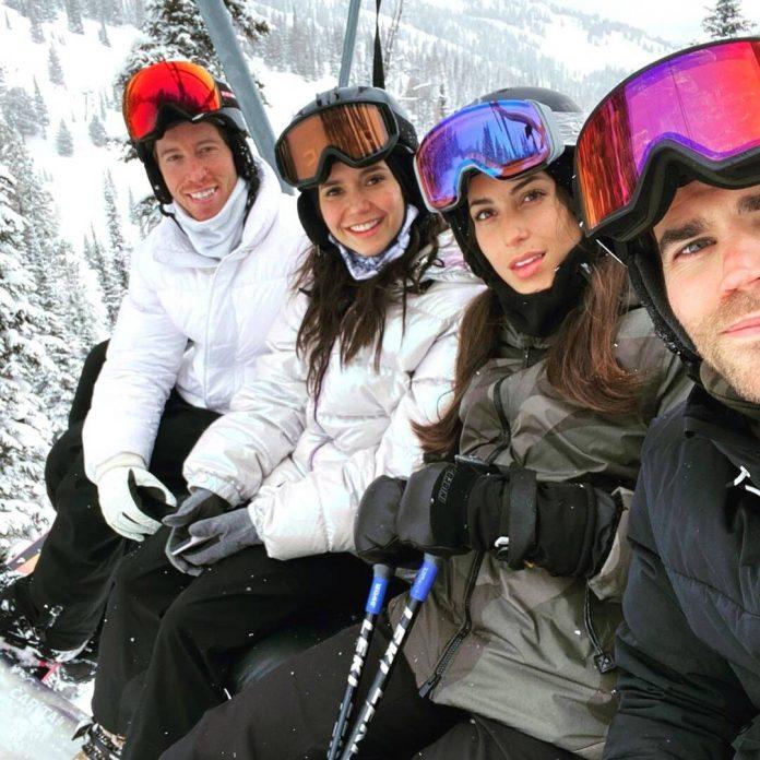 Nina Dobrev Reunites With Paul Wesley for Ski Trip With Shaun White - E! Online