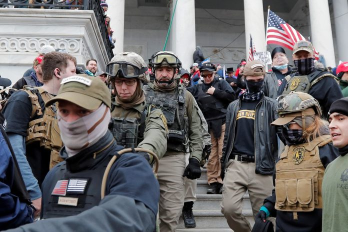 Oath Keepers boss quoted Trump before Capitol riot