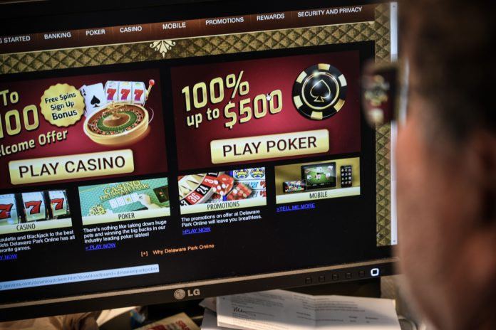 Online gambling is sending sports betting ETFs to record highs
