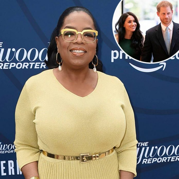 Oprah Winfrey to Interview Pregnant Meghan Markle and Prince Harry - E! Online
