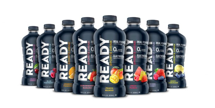 Ready Nutrition sports drinks launch in stores, coming to Amazon in Q2