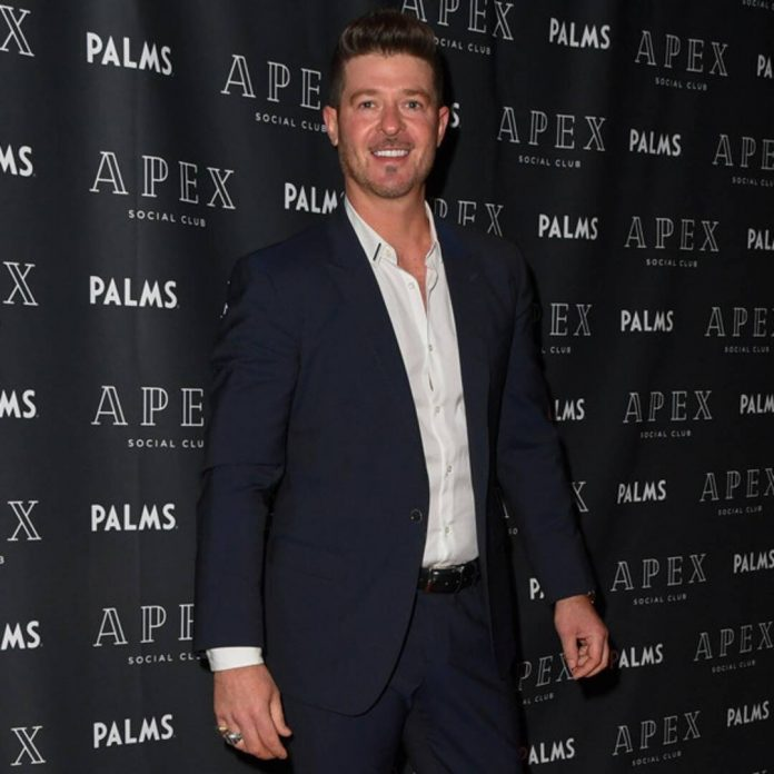 Robin Thicke Takes Criticism of