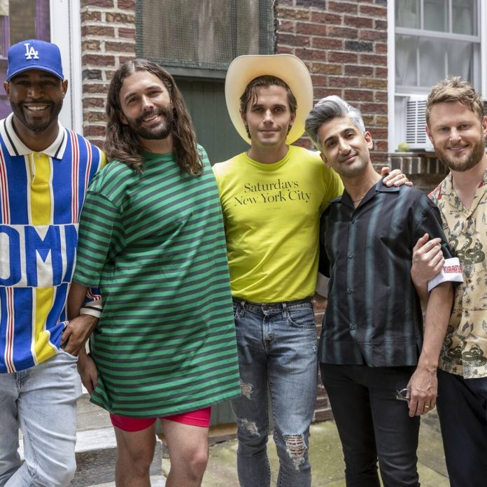 See the Fab Five Pay Tribute to 3 Years of Queer Eye - E! Online