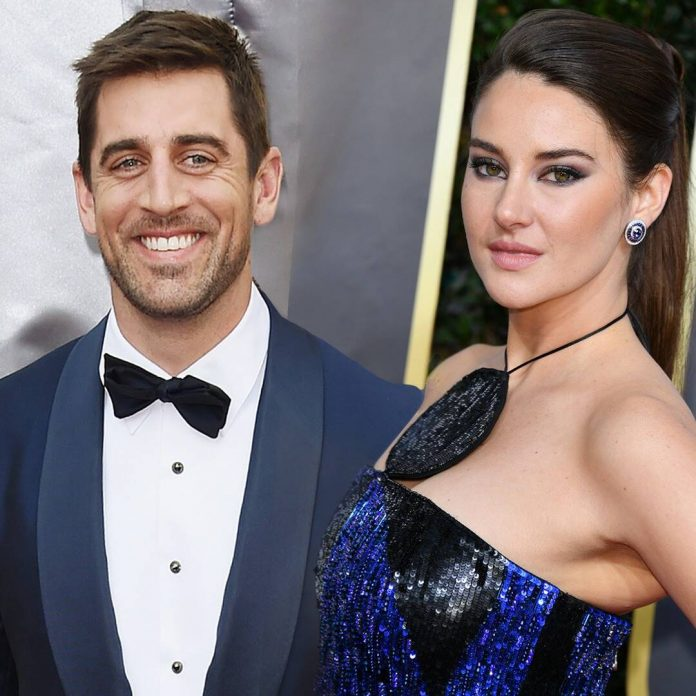 Shailene Woodley & Aaron Rodgers Celebrate Valentine's Day in Montreal - E! Online