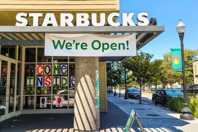 Coronavirus Reopen Starbucks Welcome Back