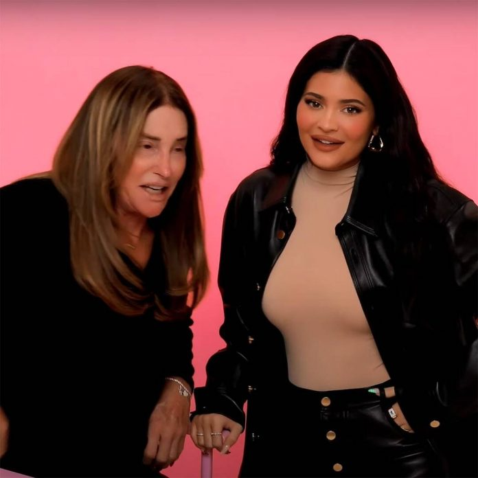 Watch Kylie Jenner Give Caitlyn Jenner an Ultra-Glam Makeover - E! Online