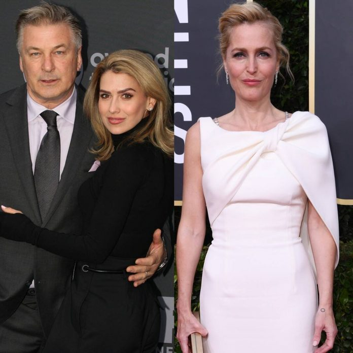 Alec Baldwin Shades Gillian Anderson After Hilaria's Accent Scandal - E! Online