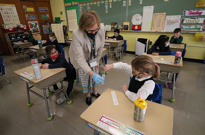 Biden administration to invest $10 billion in Covid testing for schools in push to reopen