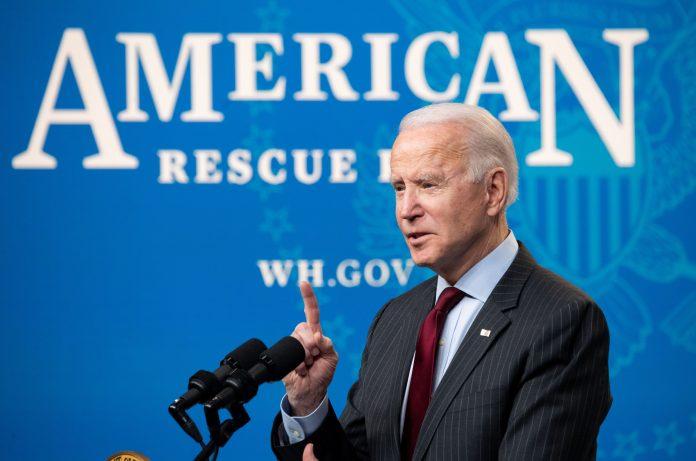Biden backs lower income cap for checks
