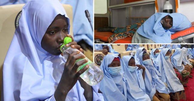 Kidnapped Nigerian schoolgirls