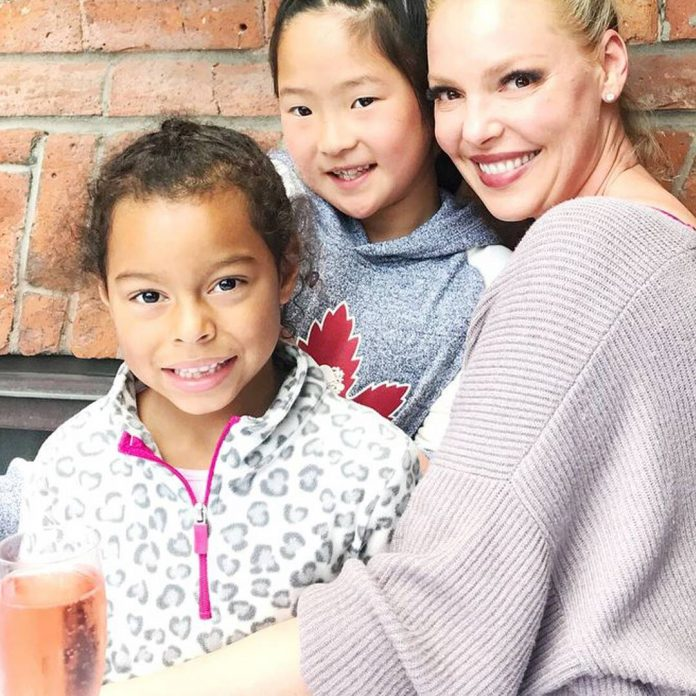 How Katherine Heigl Talks to Her Daughters About Their Birth Parents - E! Online