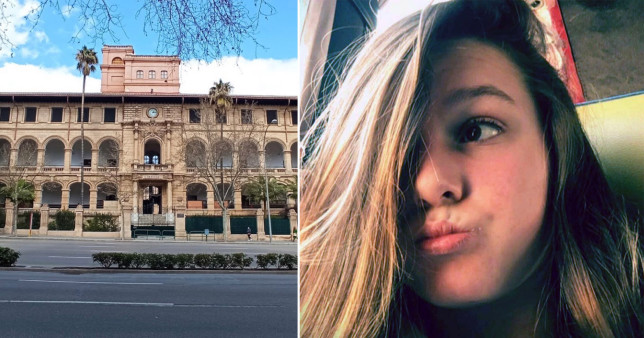 Taya O'Loughlin, 14, was last seen outside her school in the city of Palma at around 8am on Tuesday.