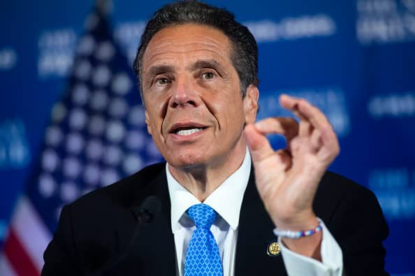 New York lawmakers strip Cuomo of emergency Covid powers