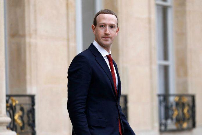 President Macron Meets Facebook's Mark Zuckerberg