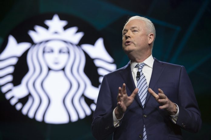 Starbucks sets goal of making its green coffee carbon neutral by 2030
