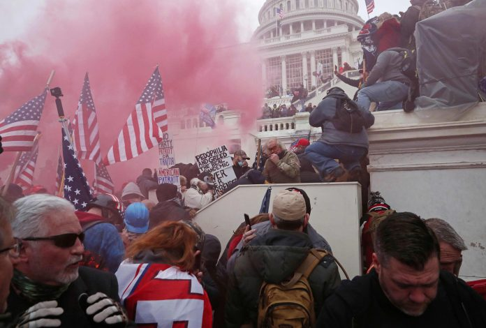 Two charged with assaulting police officer Brian Sicknick in Capitol riot