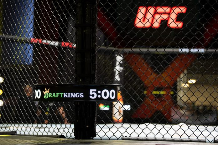 UFC agrees to show DraftKings betting odds in its broadcasts