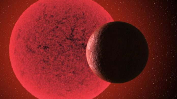 Super-Earth Orbits Red Dwarf Star GJ-74