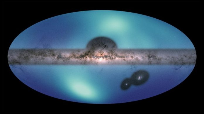 All Sky Map Milky Way Galaxy