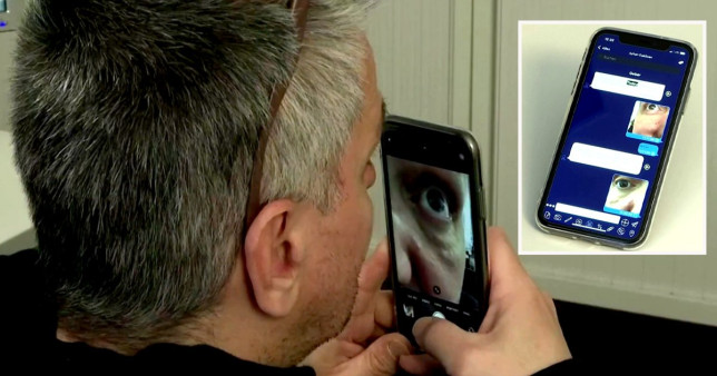 A Munich-based company hopes to help usher in a new era of coronavirus testing with an eye scan that, it says, takes just three minutes to identify carriers of the disease and has a hit rate of 95%.