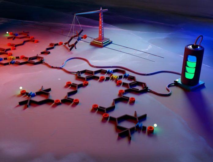 Symbolic Representation New Battery Polymer
