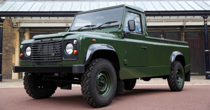 Prince Philip helped customize the Land Rover that will carry his coffin