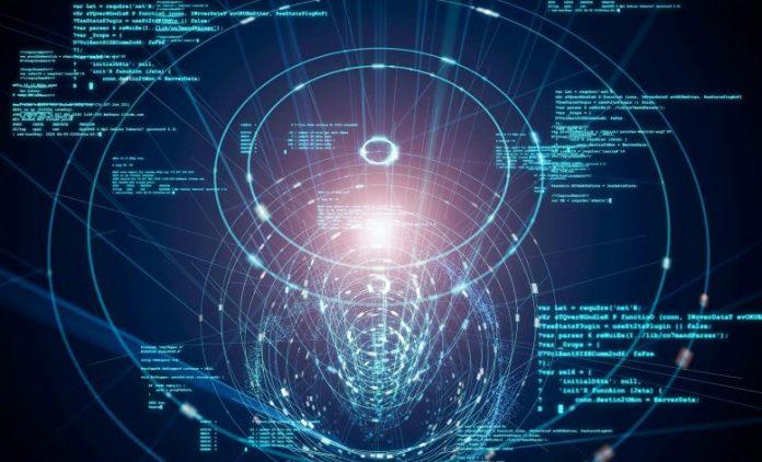 Technology Communications Programming AI Concept