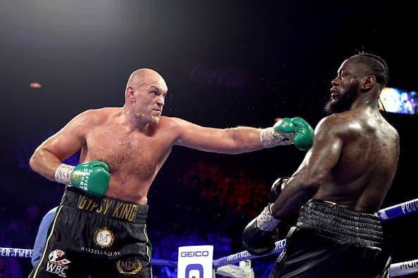 Tyson Fury calls out UFC's Francis Ngannou