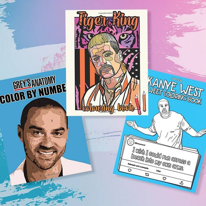 14 Coloring Books For the Pop Culture-Obsessed - E! Online