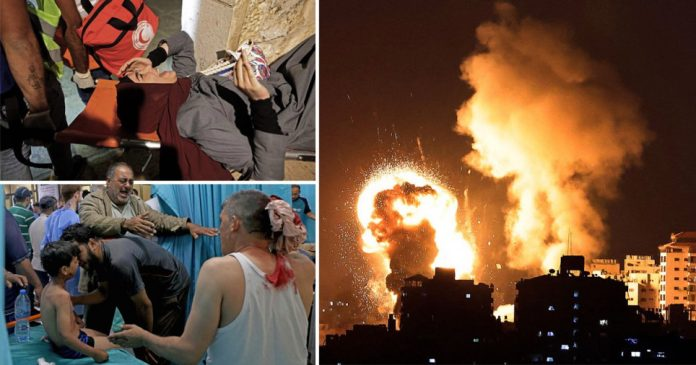 20 people including children have been killed in Israeli attacks, say Gaza health officials.