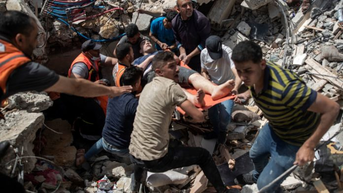 At least 2 dead, over 150 injured in structure collapse at synagogue in West Bank