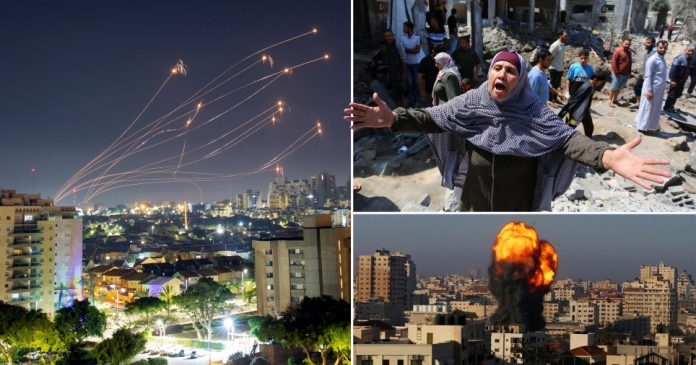 Israel launches strikes on Gaza for sixth day as unrest spreads to West Bank