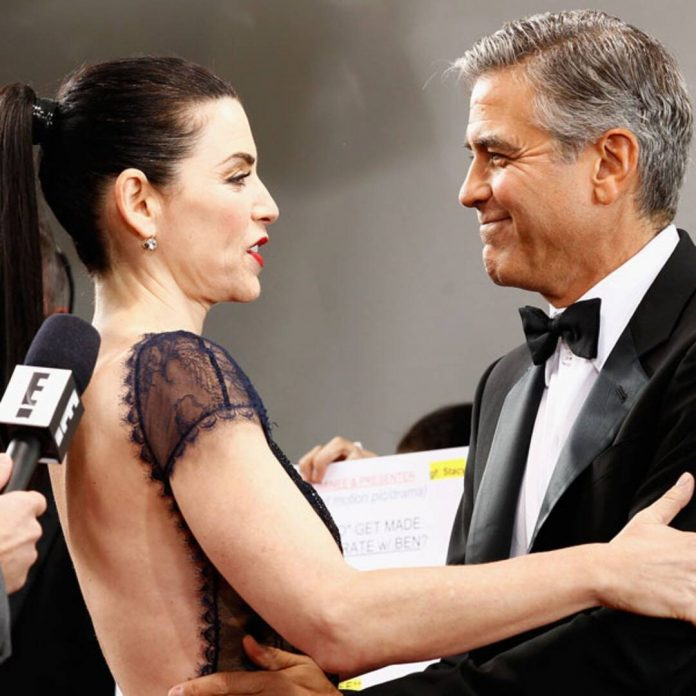 George Clooney Saved Julianna Margulies' Career With This Phone Call - E! Online