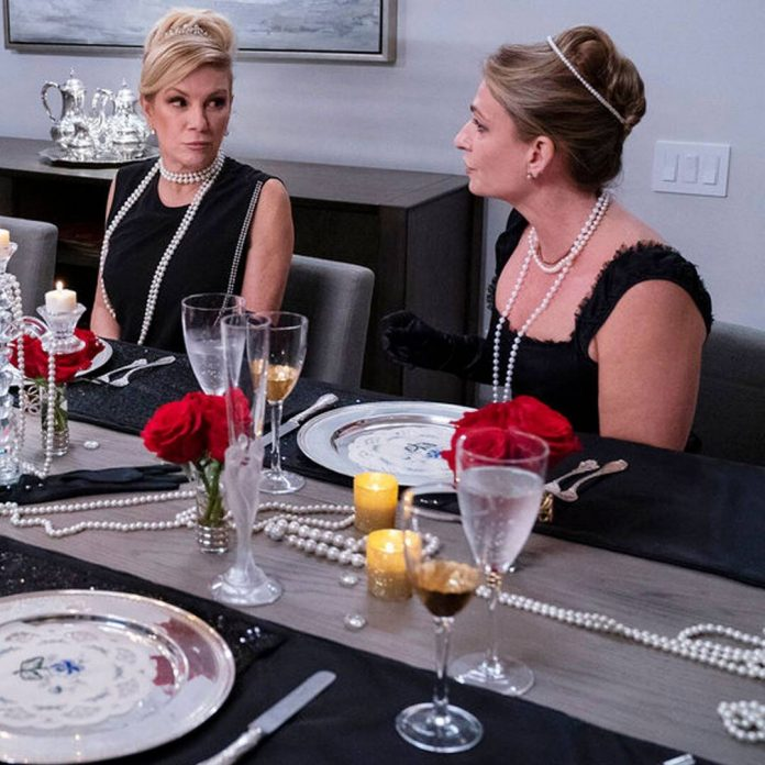 Heather Thomson Gets an Ice Cold Reception on RHONY - E! Online