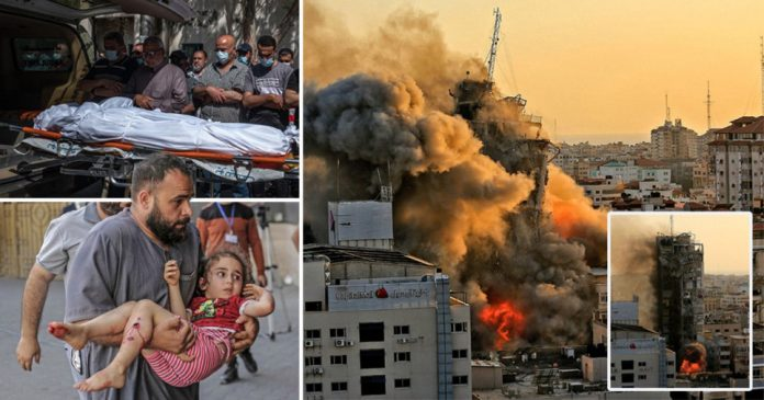 Israel warns it will not stop bombing Gaza until there is 'total quiet'
