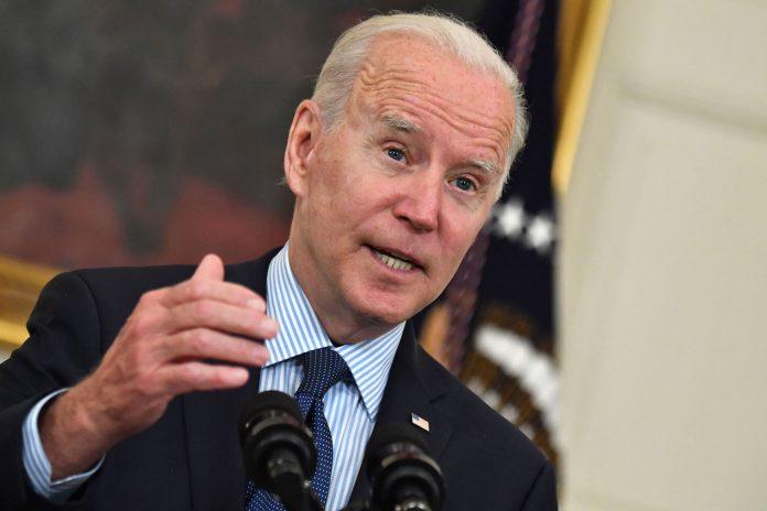 Joe Biden addresses unemployment insurance after April jobs report