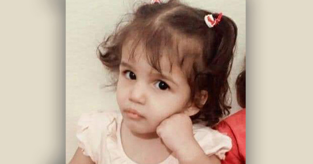 Rabiha Khaled Abdel Hamid, who died after being put in a bathtub of hot water