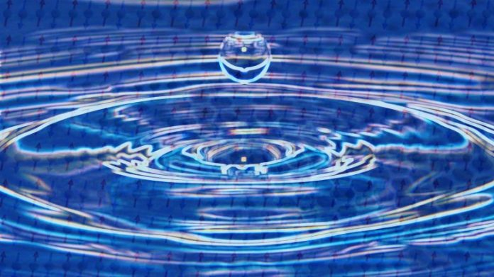 Electron's Dual Nature in Quantum Spin Liquid