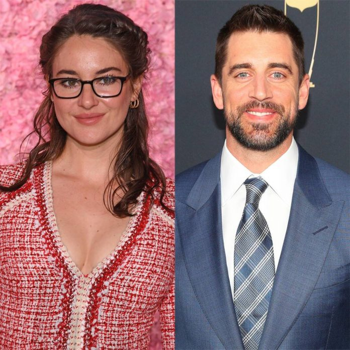 Shailene Woodley Looks Fabulous at Kentucky Derby With Aaron Rodgers - E! Online
