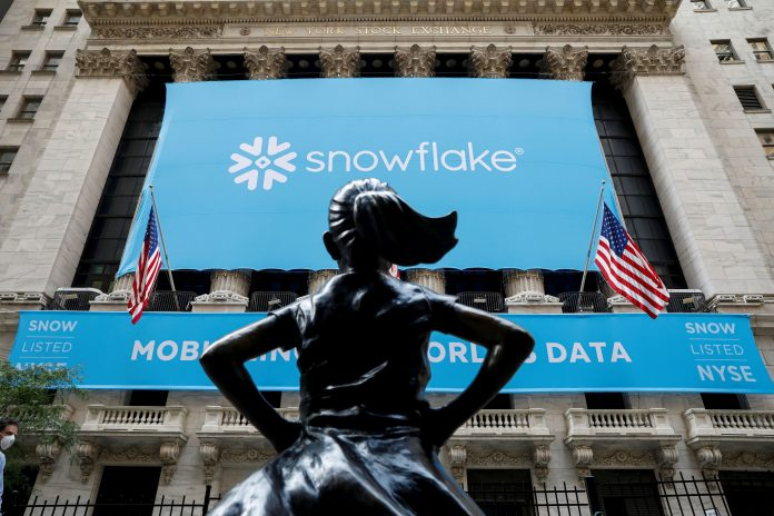 Snowflake CEO urges investors to be patient with stock during cloud transition