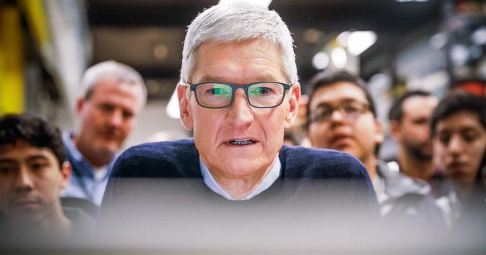 Apple CEO Tim Cook 'not confident' US will pass smart regulation for tech