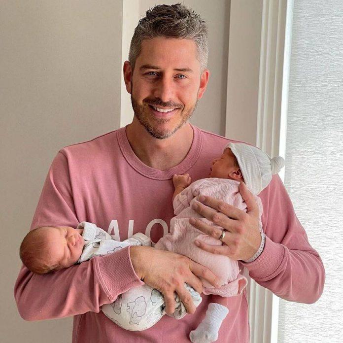 Arie Luyendyk Jr. & Lauren Burnham Reveal Their Baby Girl's Name - E! Online