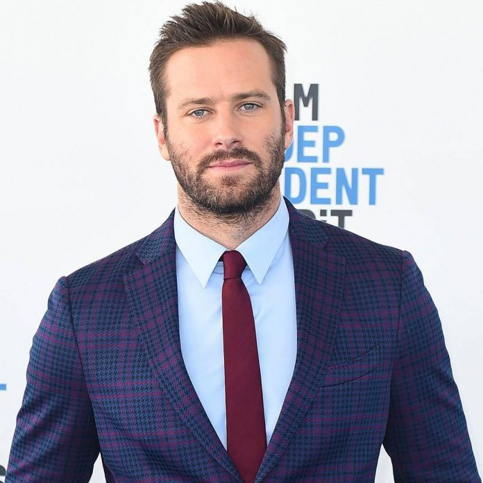 """Armie Hammer Enters Treatment Program for """"Drug, Alcohol & Sex Issues"""