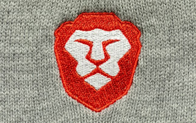 Brave browser's lion logo