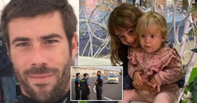 Tomas Gimeno disappeared with his children Olivia and Anna on April 27 after failing to return them to their home in Tenerife.