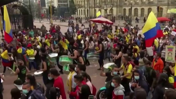 Colombia's police caused deaths of 20 people, international rights group says