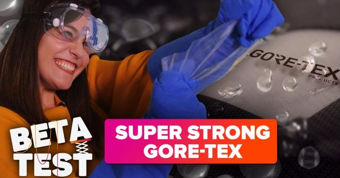 Crazy-strong Gore-Tex is inside your laptop (and your body) - Video