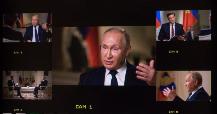 Full transcript of exclusive Putin interview with NBC News' Keir Simmons