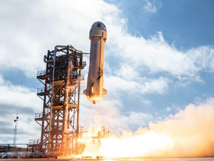 Jeff Bezos' Blue Origin auctions spaceflight seat for $28 million